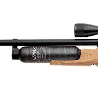 Пневматическая винтовка Evanix Giant (SHB, Walnut, Wood) кал. 4,5 мм