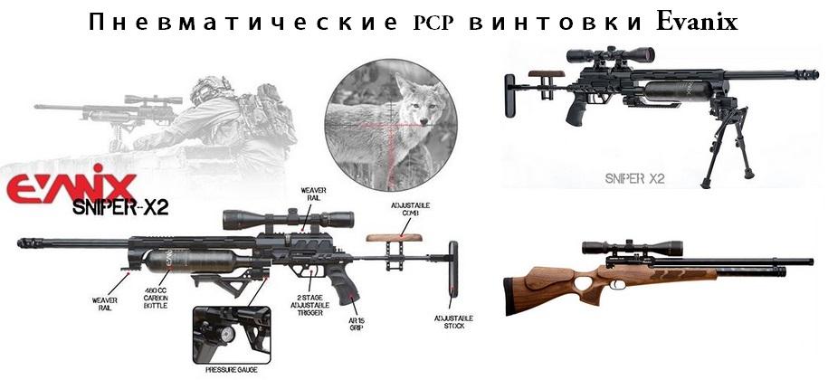 усиление мощности pcp винтовки evanix