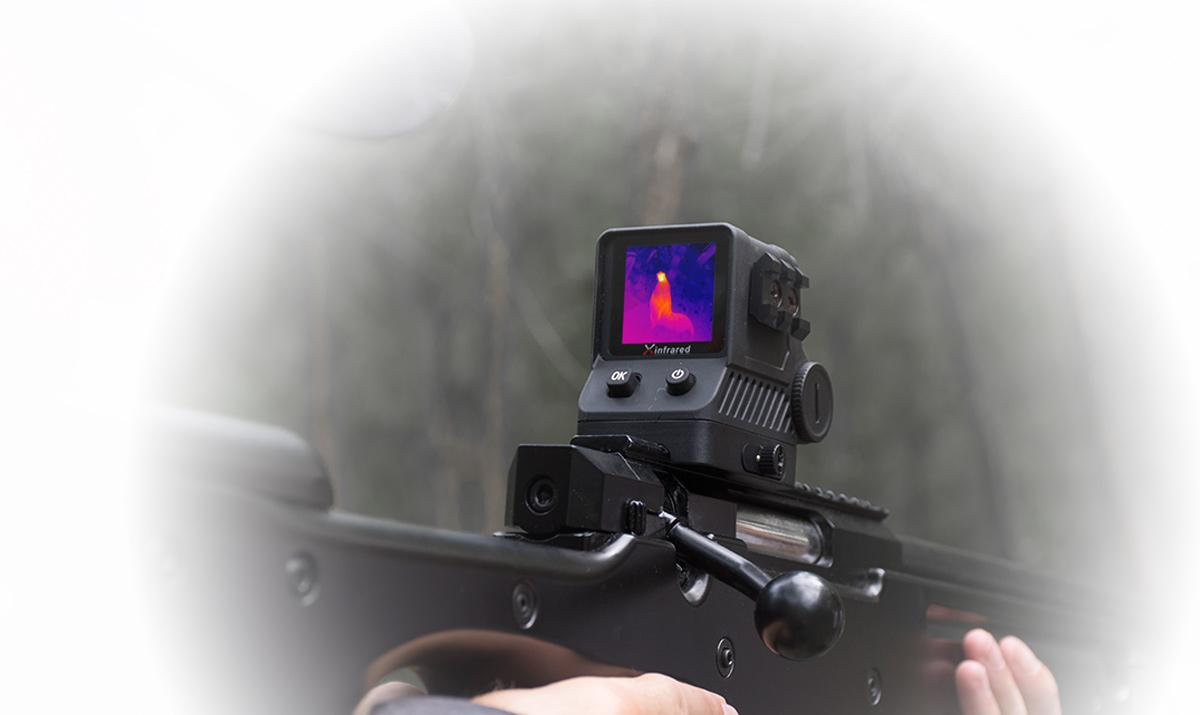 фото тепловизионного охотничьего прицела iRay Xholo HL13
