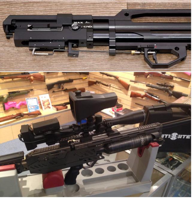 ремонт pcp винтовок Evanix